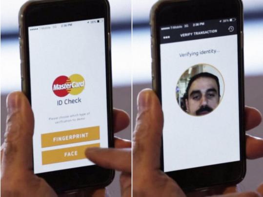 Sistema Mastercard de reconocimiento facial